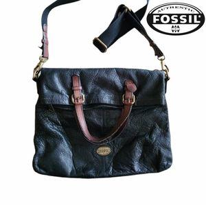 Fossil Explorer Large Foldover Tote/Crossbody